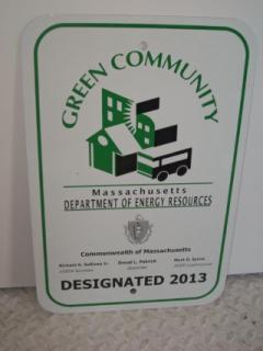 Green Communities Sign