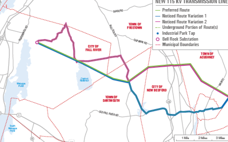 Proposed Project Map